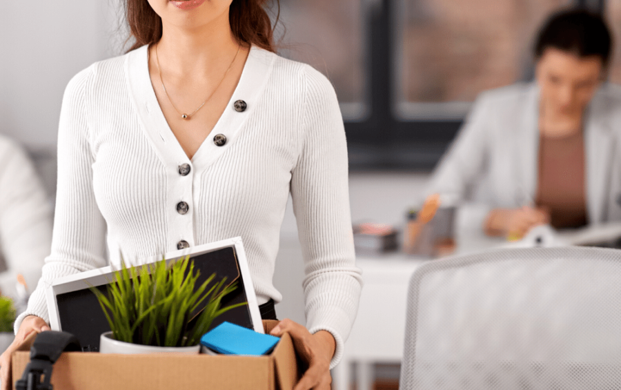The Dos and Don'ts If You've Been Laid Off |Packed Box